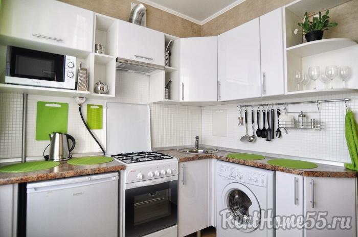 2-комнатные квартиры в пригороде омска: